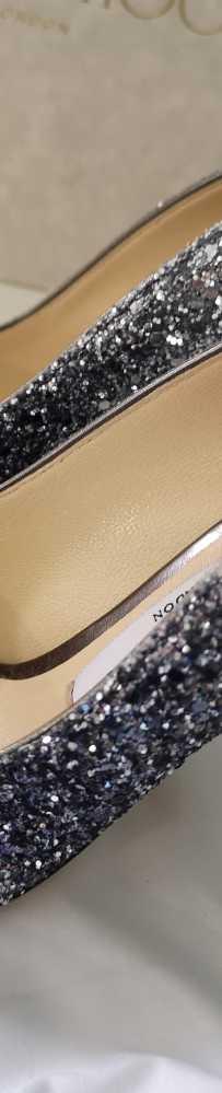 Jimmy Choo高跟鞋 34码 168 ROMY 100MM渐变色 新币780
