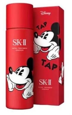 新加坡机场新罗店购买SK-II Facial 米奇限量版神仙水230ml新币137 Treatment Essence Mickey Mouse Limited Edition 230ml