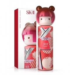 新加坡机场新罗店购买SK-II 东京娃娃230ml S$182, Facial Treatment Essence Tokyo Girl Limited Edition (Red Pink Kimono) 230ml S$182,