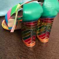 37码彩虹凉鞋 低价出售