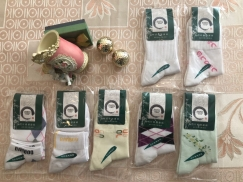 正品大牌竹纤维 毛巾 袜子 大量出售