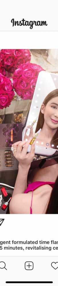 兰芝LED网红化妆镜子 $10