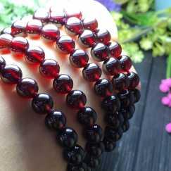特价天然石榴石手链,三圈手链,紫牙乌手链等,晶体完美,价格便宜