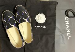 全新chanel香奈儿新款渔夫鞋
